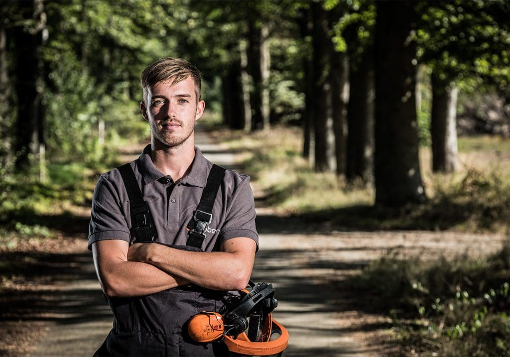 trainer van training boomveiligheidscontroleur